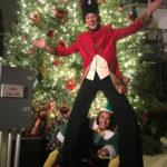 ChristmasStilt Walkers